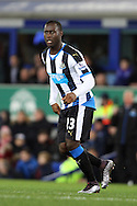 Henri Saivet of Newcastle United looks on. Barclays Premier League match, Everton v Newcastle United at Goodison Park in Liverpool on Wednesday 3rd February 2016.<br /> pic by Chris Stading, Andrew Orchard sports photography.
