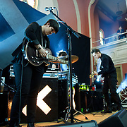 March 28, 2010 (Washington, D.C.) - British indie sensations The XX play the first of two sold out shows at 6th & I Synagouge. (Photo by Kyle Gustafson)
