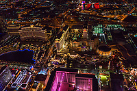 Bellagio, Caesar's Place & Flamingo Hotels, Las Vegas Boulevard
