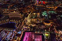 Bellagio, Caesar's Place & Flamingo Hotels, Las Vegas Boulevard