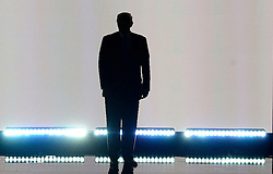 Republican candidate Donald Trump arrives on stage on the first day of the Republican National Convention on July 18, 2016 at the Quicken Loans Arena in Cleveland, OH, USA. Photo by Olivier Douliery/ABACAPRESS.COM  | 555791_075 Cleveland Etats-Unis United States