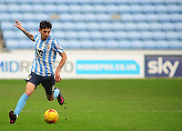 Coventry City's Ruben Lameiras<br /> <br /> Photographer Andrew Vaughan/CameraSport<br /> <br /> Football - The Football League Sky Bet League One - Coventry City v Fleetwood Town - Saturday 27th February 2016 - Ricoh Stadium - Coventry   <br /> <br /> © CameraSport - 43 Linden Ave. Countesthorpe. Leicester. England. LE8 5PG - Tel: +44 (0) 116 277 4147 - admin@camerasport.com - www.camerasport.com