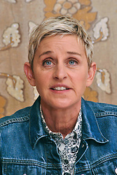 """Ellen Degeneres at the Hollywood Foreign Press Association press conference for """"Finding Dory"""" held in Los Angeles, CA on June 09, 2016. (Photo by Yoram Kahana/Shooting Star) *** NO TABLOID PUBLICATIONS *** Please Use Credit from Credit Field ***"""