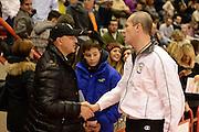 DESCRIZIONE : Pistoia Lega serie A 2013/14 Giorgio Tesi Group Pistoia Victoria Libertas Pesaro<br /> GIOCATORE : claudio crippa, arbitro<br /> CATEGORIA : pre game<br /> SQUADRA : Giorgio Tesi Group Pistoia<br /> EVENTO : Campionato Lega Serie A 2013-2014<br /> GARA : Giorgio Tesi Group Pistoia Victoria Libertas Pesaro<br /> DATA : 24/11/2013<br /> SPORT : Pallacanestro<br /> AUTORE : Agenzia Ciamillo-Castoria/GiulioCiamillo<br /> Galleria : Lega Seria A 2013-2014<br /> Fotonotizia : Pistoia Lega serie A 2013/14 Giorgio Tesi Group Pistoia Victoria Libertas Pesaro<br /> Predefinita :