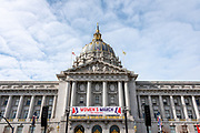 San Francisco, USA. 19th January, 2019. The Women's March San Francisco begins with a rally at Civic Center Plaza in front of City Hall. Credit: Shelly Rivoli/Alamy Live News