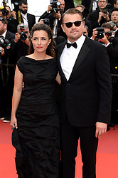Leila Conners and Leonardo DiCaprio attending the Oh Mercy! premiere, during the 72nd Cannes Film Festival. Photo credit should read: Doug Peters/EMPICS