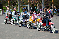 Japanese Family Cycle is a new way for Japanese families to be together