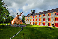 Ireland - Grounds and property of Jameson Distillery