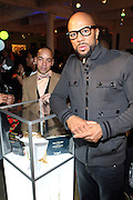 l to r: Derek Dudley and Common at the Common Celebration for the Capsule Line Launch with Softwear by Microsoft at Skylight Studios on December 3, 2008 in New York City..Microsoft celebrates the launch of a limited-edition capsule collection of SOFTWEAR by Microsoft graphic tees designed by Common. The t-shirt  designs. inspired by the 1980's when both Microsoft and and Hip Hop really came of age, include iconography that depicts shared principles of the technology company and the Hip Hop Star.
