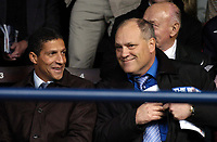 Photo: Olly Greenwood.<br />Southend United v Carlisle United. Coca Cola League 1. 27/10/2007. Ex Spurs manager Martin Jol and Chris Hughton