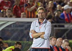 PASADENA, USA - Wednesday, July 27, 2016: Liverpool's manager Jürgen Klopp during the International Champions Cup 2016 game against Chelsea on day seven of the club's USA Pre-season Tour at the Rose Bowl. (Pic by David Rawcliffe/Propaganda)