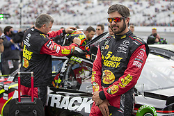 July 22, 2018 - Loudon, New Hampshire, United States of America - Martin Truex, Jr (78) gets ready for the Foxwoods Resort Casino 301 at New Hampshire Motor Speedway in Loudon, New Hampshire. (Credit Image: © Stephen A. Arce/ASP via ZUMA Wire)