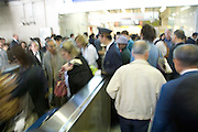 rush hour subway Japan