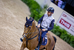 Gulliksen Geir, NOR, Edesa S Banjan<br /> World Cup Final Jumping - Las Vegas 2015<br /> © Hippo Foto - Dirk Caremans<br /> 15/04/2015