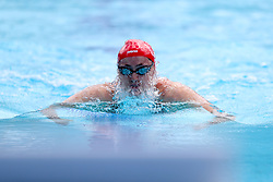 England's Molly Renshaw competes in the Women's 50m Breaststroke - Heat 2 at the Optus Aquatic Centre during day one of the 2018 Commonwealth Games in the Gold Coast, Australia.