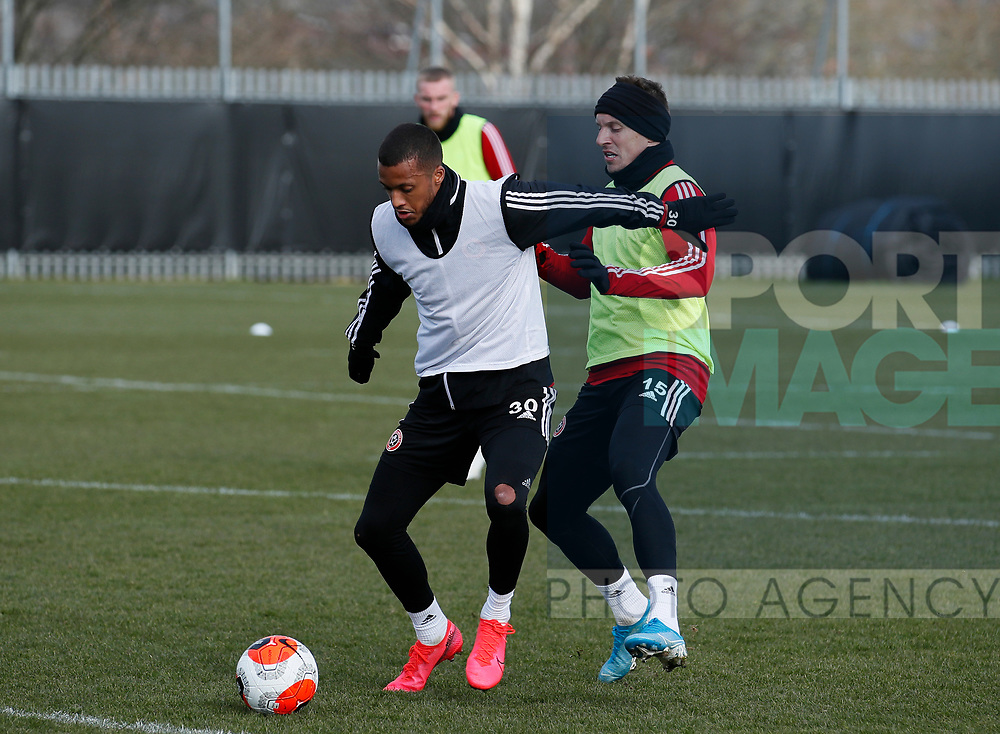Richairo Zivkovic of Sheffield Utd during a training session at the Steelphalt Academy, Sheffield. Picture date: 5th March 2020. Picture credit should read: Simon Bellis/Sportimage