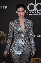 November 5, 2017 - Beverly Hills, California, United States of America - Kate Mara at the 21st Annual Hollywood Film Awards at The Beverly Hilton Hotel in Beverly Hills, California on Sunday November 5, 2017. JAVIER ROJAS/PI (Credit Image: © Prensa Internacional via ZUMA Wire)