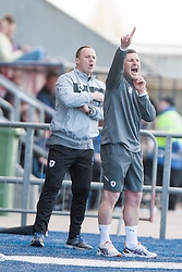 Raith Rovers Player-Coach Grant Murray.<br /> Falkirk 2 v 1 Raith Rovers, Scottish Championship game played today at The Falkirk Stadium.<br /> © Michael Schofield.