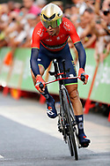 Vincenzo Nibali (ITA - Bahrain - Merida) during the UCI World Tour, Tour of Spain (Vuelta) 2018, Stage 1, individual time trial, Malaga - Malaga (8km) in Spain, on August 26th, 2018 - Photo Luis Angel Gomez / BettiniPhoto / ProSportsImages / DPPI