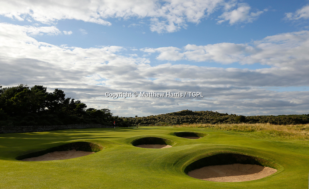 2nd par 4 Muirfield,The Honourable Company Of Edinburgh Golfers,Gullane,East Lothian,Scotland.Venue for the 2013 Open Championship,with Ernie ELS (RSA) defending his title,and who was also the winner here in 2002.