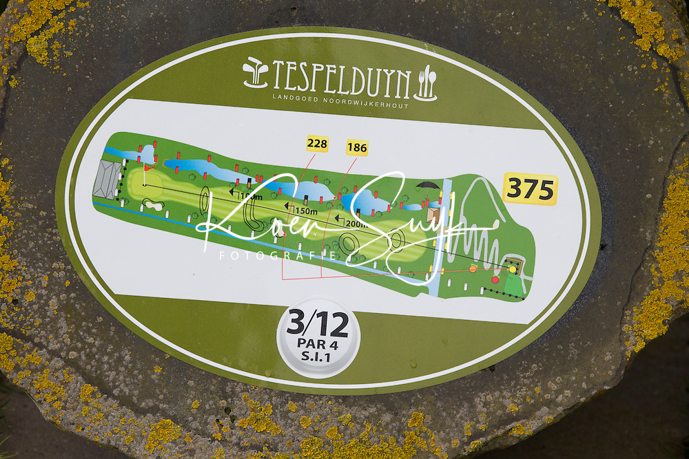 NOORDWIJKERHOUT -  Holebord Hole 3. GOLFBAAN Landgoed TESPELDUYN ,  COPYRIGHT KOEN SUYK