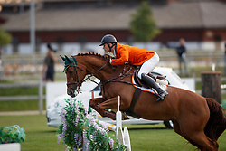 Van Grunsven Jens, NED, Cika<br /> Young Riders European Championships Jumping <br /> Samorin 2017© Hippo Foto - Dirk Caremans<br /> 11/08/2017