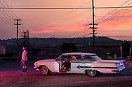 USA, Oregon, America, American, American Dreamscapes Chevy Impala 1960