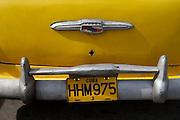 Cuba Old American Cars