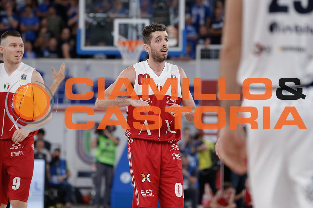 Amedeo Della Valle<br /> A | X Armani Exchange Milano - Leonessa Germani Brescia<br /> LBA Lega Basket Serie A<br /> Zurich Connect Supercoppa 2018<br /> Brescia, 29/09/2018<br /> Foto MarcoBrondi / Ciamillo-Castoria