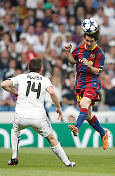 27-04-2011 VOETBAL: SEMI FINAL CL REAL MADRID - FC BARCELONA: MADRID<br /> Xabi Alonso and Barcelona's Lionel Messi<br /> *** NETHERLANDS ONLY***<br /> ©2011-FH.nl- EXPA/ Alterphotos/ ALFAQUI / Cesar Cebolla