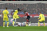 Abdoulaye DOUCOURE / Remy RIOU - 21.03.2015 - Rennes / Nantes - 30eme journee de Ligue 1<br />Photo : Vincent Michel / Icon Sport