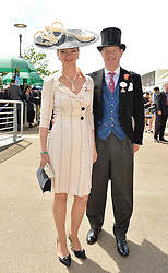 The EARL & COUNTESS OF DERBY at day two of the Royal Ascot 2016 Racing Festival at Ascot Racecourse, Berkshire on 15th June 2016.
