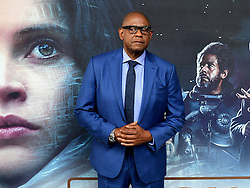 Forest Whitaker attending a special screening of Rogue One: A Star Wars Story at the BFI IMAX, London.