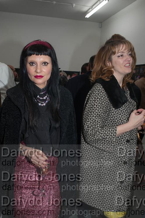 PRINCESS JULIA; PETRONELLA WYATT; , Nicola Tyson exhibition of photographs: Bowie Nights at Billy's Club London 1978. Sadie Coles HQ. 9 Balfour Mews, London W1. 25 January 2013.