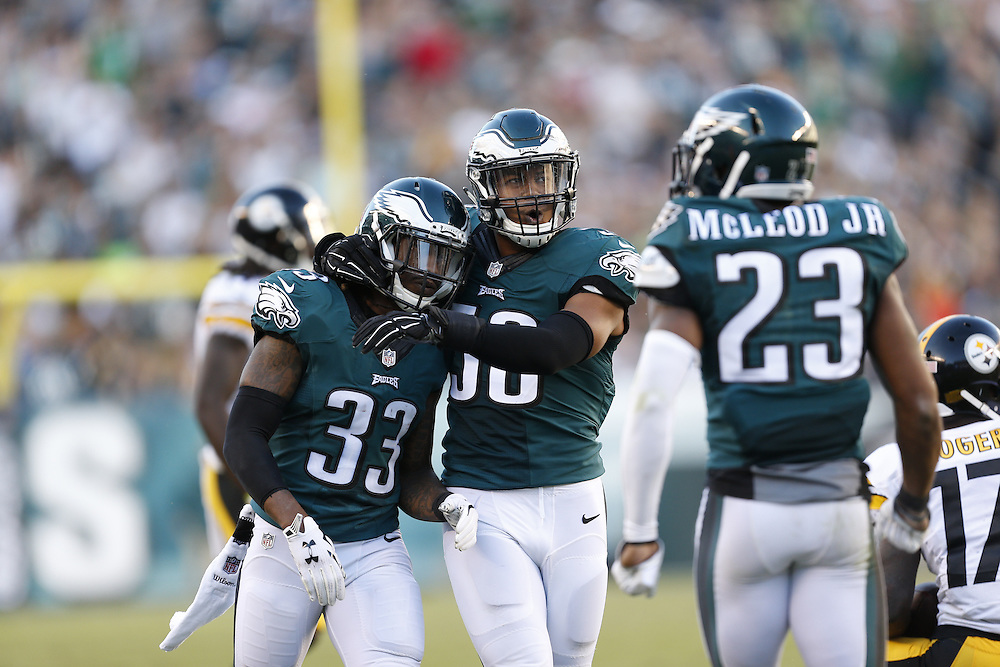 during the NFL Game between the Pittsburgh Steelers and the Philadelphia Eagles at Lincoln Financial Field in Philadelphia on Sunday September 25th 2016. The Eagles won 34-3. (Brian Garfinkel/Philadelphia Eagles)