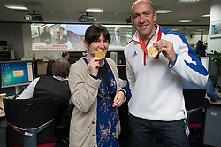 © Ben Cawthra. 13/04/2012.  Cisico 100 days to the olypics with Olympic Gold medalist kayaker Tim Brabants