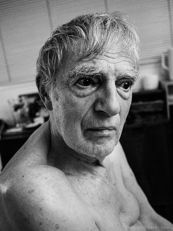 My father, Monroe Gross in his bedroom, in 2012.