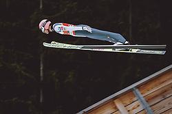 04.03.2021, Oberstdorf, GER, FIS Weltmeisterschaften Ski Nordisch, Oberstdorf 2021, Herren, Skisprung HS137, Qualifikation, im Bild Daniel Huber (AUT) // Daniel Huber of Austria during qualification for the ski jumping HS137 competition of FIS Nordic Ski World Championships 2021 in Oberstdorf, Germany on 2021/03/04. EXPA Pictures © 2021, PhotoCredit: EXPA/ JFK