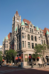 Minnesota, Twin Cities, Minneapolis-Saint Paul: The Landmark Building in downtown St Paul, by Rice Park.  This former Federal Building now hosts arts organizations..Photo mnqual293-75282..Photo copyright Lee Foster, www.fostertravel.com, 510-549-2202, lee@fostertravel.com.