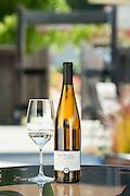 Dutton Ranch Green Valley Vineyard Gewurztraminer, 2011. Dutton Goldfield Winery tasting room. Graton, California