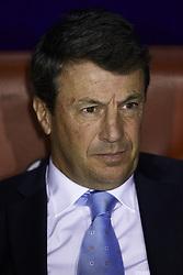 April 19, 2018 - Valencia, Valencia, Spain - Jose Gonzalez head coach of Malaga CF looks on prior to  the La Liga game between Levante UD and Malaga CF at Ciutat de Valencia on April 19, 2018 in Valencia, Spain  (Credit Image: © David Aliaga/NurPhoto via ZUMA Press)