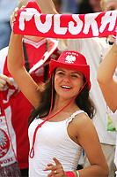 Fan Polen , illustrasjon fans<br /> Fussball WM 2006 Costa Rica - Polen<br /> Norway only