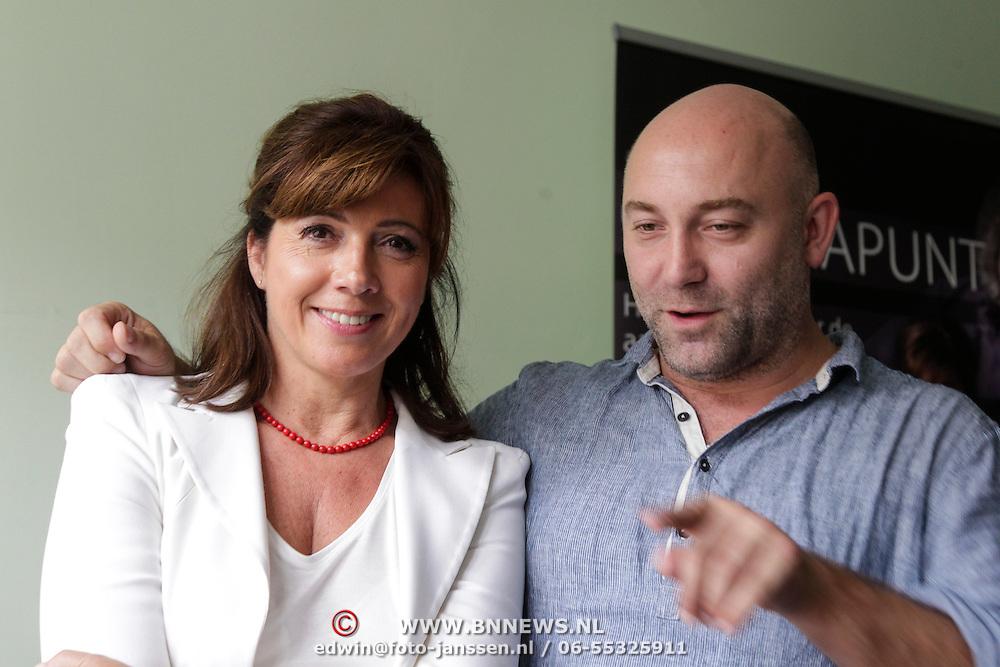 NLD/Amsterdam/20120910 - Perspresentatie toneelstuk Contrapunt, Janke Dekker en Loek Peters