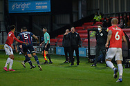 Richie Wellens during the EFL Sky Bet League 2 match between Salford City and Bradford City at the Peninsula Stadium, Salford, United Kingdom on 21 November 2020.