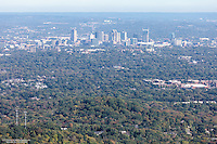 Aerial Photo Of The Nashville Skyline As Seen From Radnor Lake
