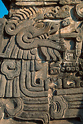 MEXICO, PREHISPANIC Xochicalco; Plumed Serpent Pyramid