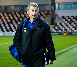 Head Coach Leo Cullen of Leinster arrives at the stadium<br /> <br /> Photographer Simon King/Replay Images<br /> <br /> Guinness PRO14 Round 10 - Dragons v Leinster - Saturday 1st December 2018 - Rodney Parade - Newport<br /> <br /> World Copyright © Replay Images . All rights reserved. info@replayimages.co.uk - http://replayimages.co.uk