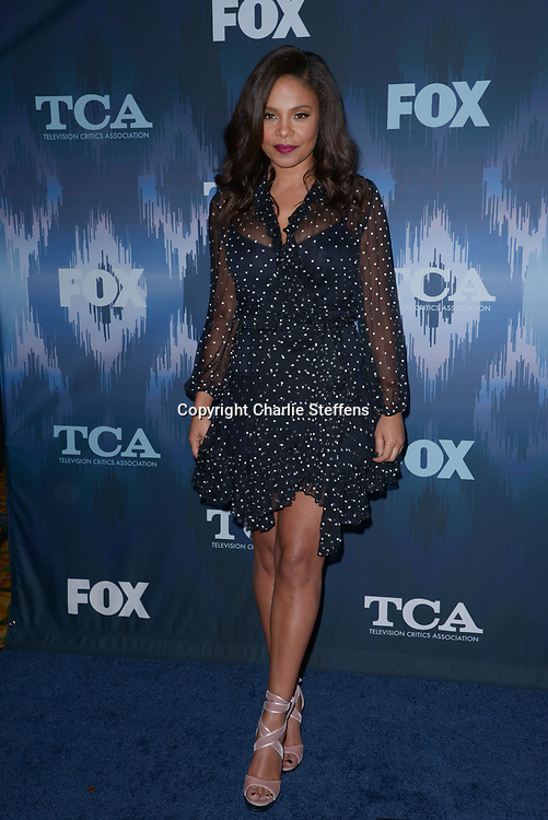 SANAA LATHAN at the Fox Winter TCA 2017 All-Star Party at the Langham Hotel in Pasadena, California