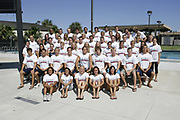 2006-07 FAU Swimming & Diving Photo Day, October 6, 2006.