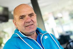 Portrait of Dare Prusnik, former ice hockey player, on October 14, 2020 in Tivoli, Ljubljana, Slovenia. Photo by Vid Ponikvar/Sportsfile